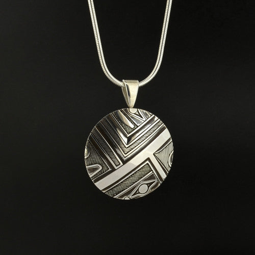 Clinton Work - Abstract - Silver Jewellery