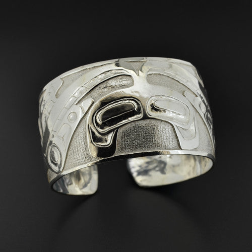 Phil Janze - Split Killerwhale - Silver Jewellery