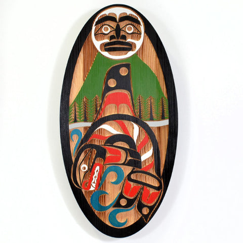 Killerwhale - Red Cedar Panel