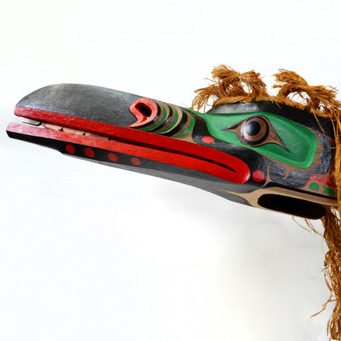 Raven of the Sea - Red Cedar Mask