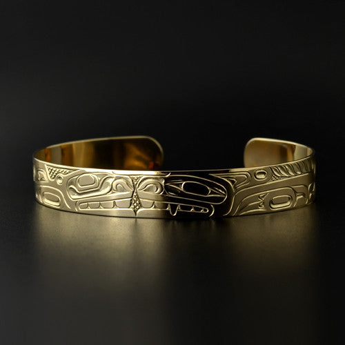 Shawn Edenshaw - Wolf and Whale - Gold Jewellery