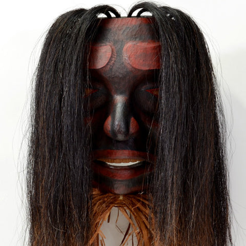 Mourning Mask - Red Cedar Mask