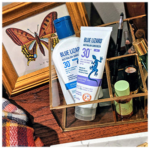 Blue Lizard Australian Sunscreen Sensitive and Sensitive Face