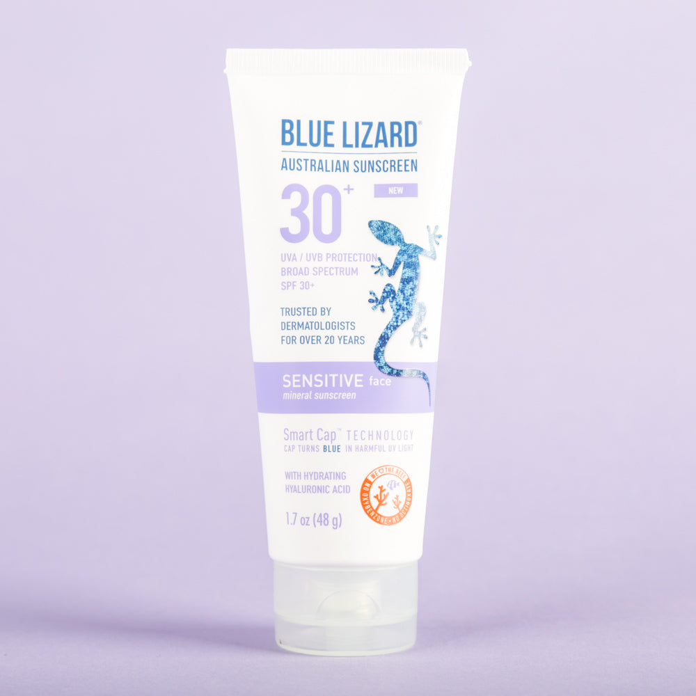 Blue Lizard Australian Sunscreen Sensitive Face