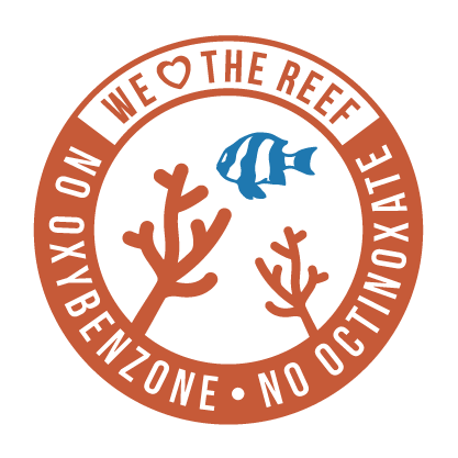 We heart the reef: No Oxybenzone, no Octinoxate