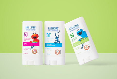 Blue Lizard Baby, Sensitive and Kids mineral sunscreen sticks