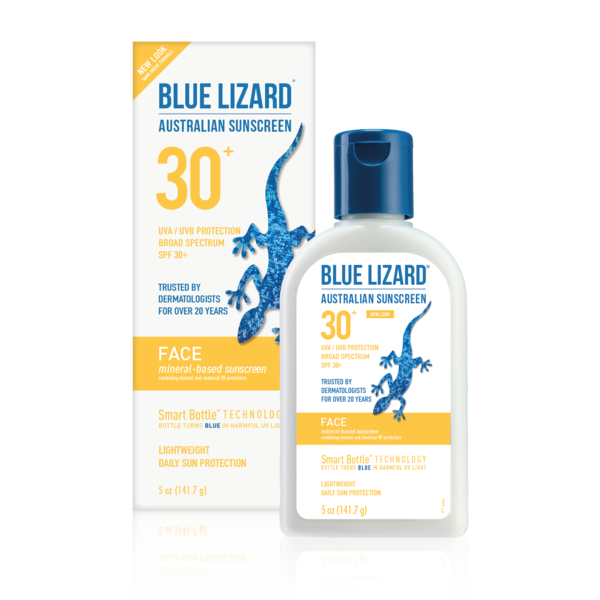 Blue Lizard Australian Sunscreen Face 5 oz Bottle