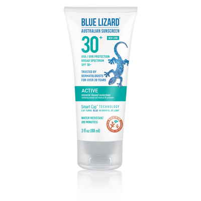 Active Mineral-Based Sunscreen SPF 30+ – 3 oz Tube