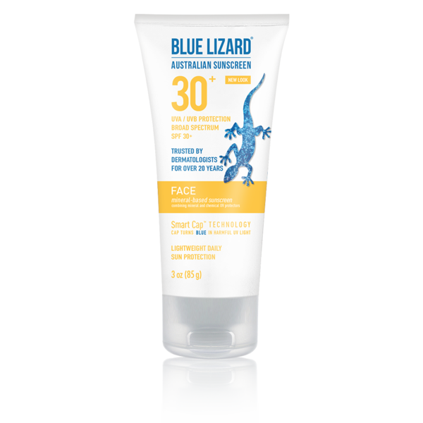 Blue Lizard Australian Sunscreen Face 3 oz Tube