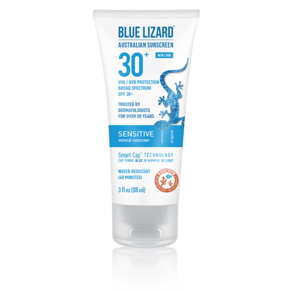 Blue Lizard Australian Sunscreen Sensitive 3 oz Tube