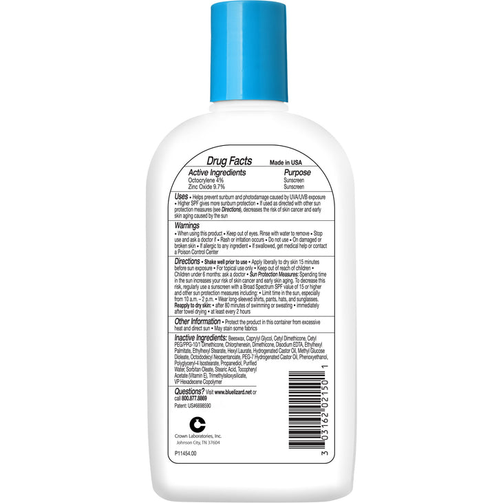 Blue Lizard Sport sunscreen ingredients