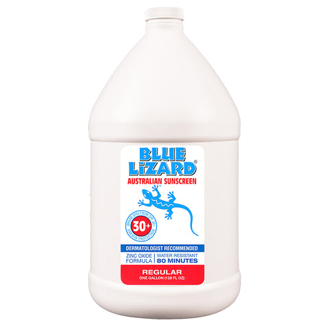 Blue Lizard Regular sunscreen gallon