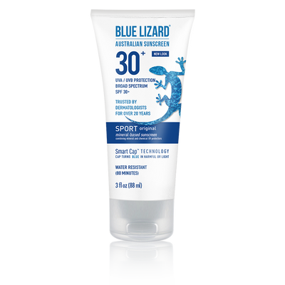 Blue Lizard Australian Sunscreen Sport Original 3 oz Tube
