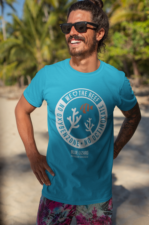 """We Love the Reef"" logo T-shirt"