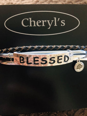 """Blessed"" Tree of Life Bracelet"