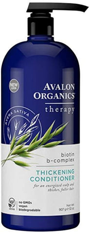 Avalon Organics Biotin B-Complex Thickening Conditioner, 32 oz