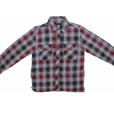 MENS PLAID FLANNEL SHIRT JACKET
