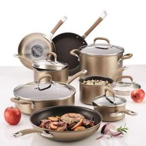 Circulon Premier Professional 13-piece Hard Anodized Cookware Set