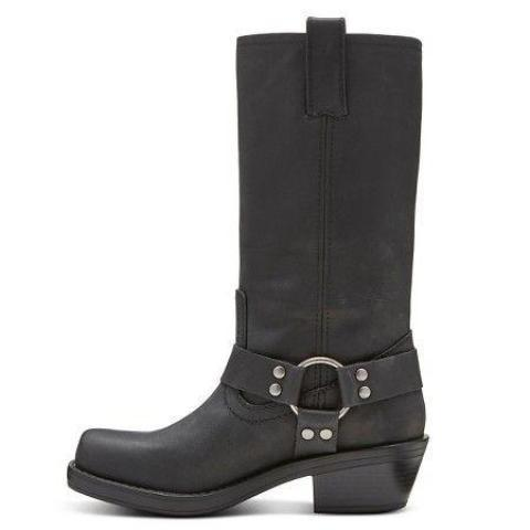 Women's Leather Engineer Boot - Katherine