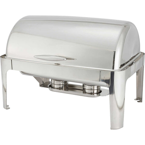 Winco Madison 8 Qt Full-Size Roll Top Chafer