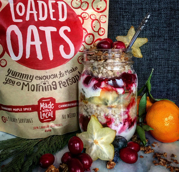 RECIPE | Loaded Oats Holiday Parfait