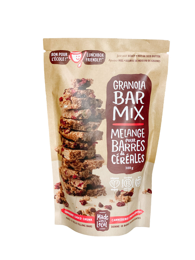 Granola Bar Mix - Cranberry Choco Chunk
