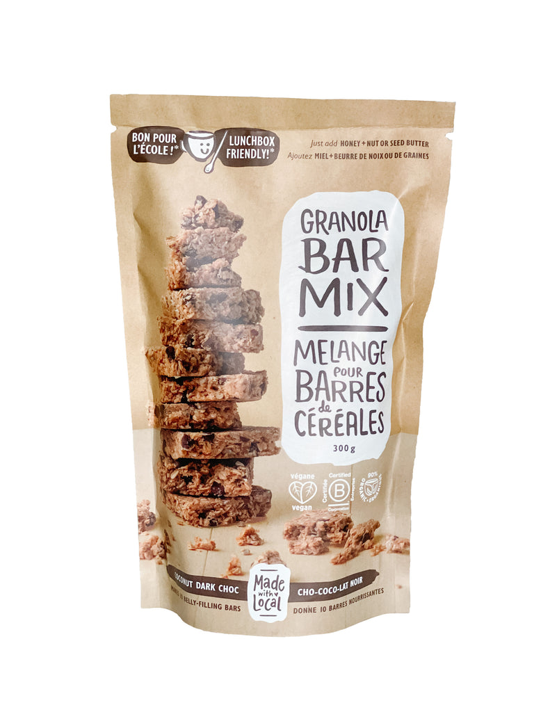 Granola Bar Mix - Coconut Dark Choc