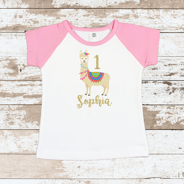 First Birthday Llama