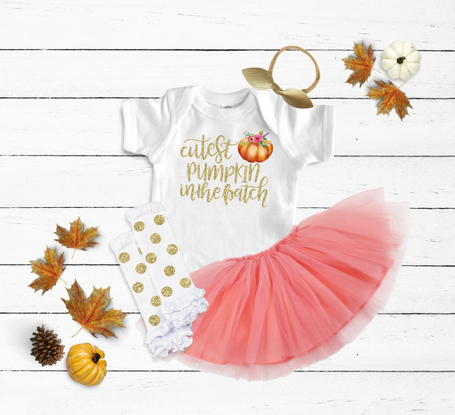 Cutest Pumpkin in the Patch Outfit