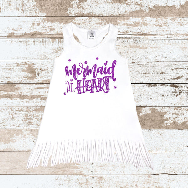 Mermaid At Heart Purple