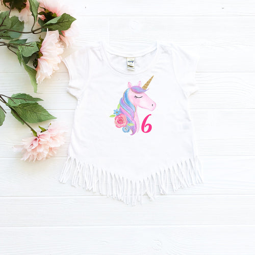 Unicorn 6 Fringe Shirt
