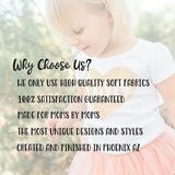 Stay Wild My Child Pink Flowers Peach Tutu Outfit