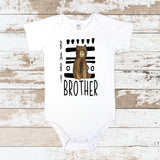 Little Brother Tribal White Bodysuit