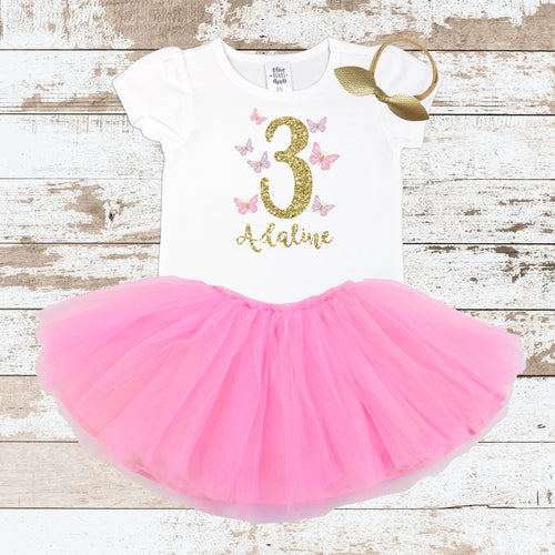 Custom Butterfly 3 PinkTutu Outfit
