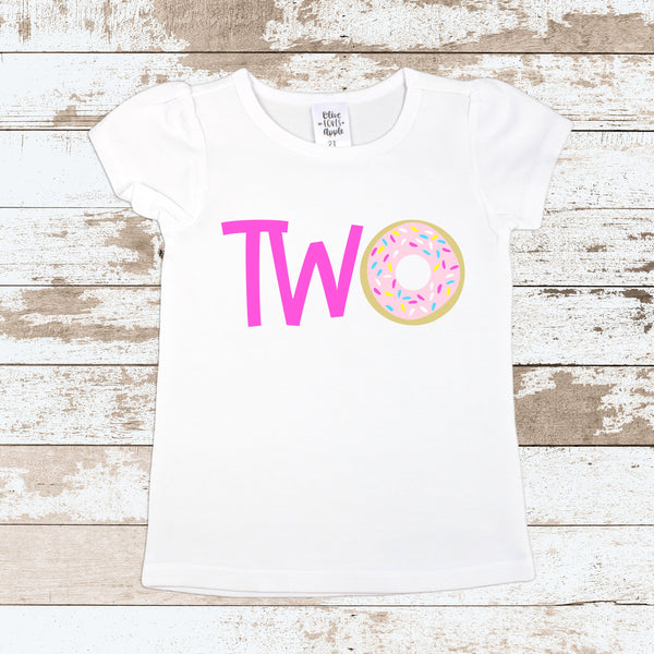 Pink Two Donut Tops