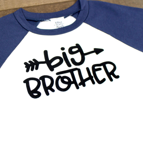 Big Brother Navy Raglan Shirt