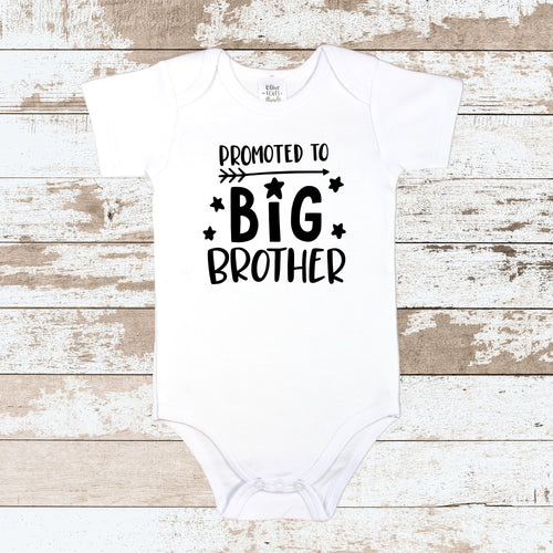 Promoted To Big Brother White Bodysuit