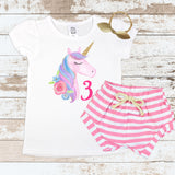 Unicorn Pink 3 Pink Shorts Outfit