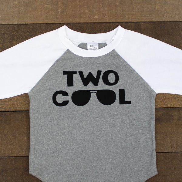 Two Cool Gray Raglan Shirt