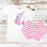 Unicorn Pink 4 Pink Shorts Outfit