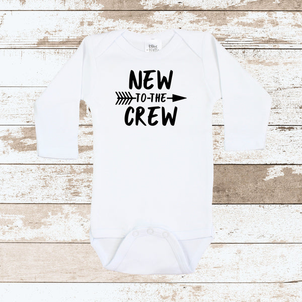New To The Crew White Bodysuit