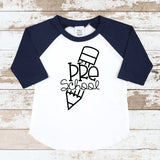 Pre-School Pencil Navy Raglan