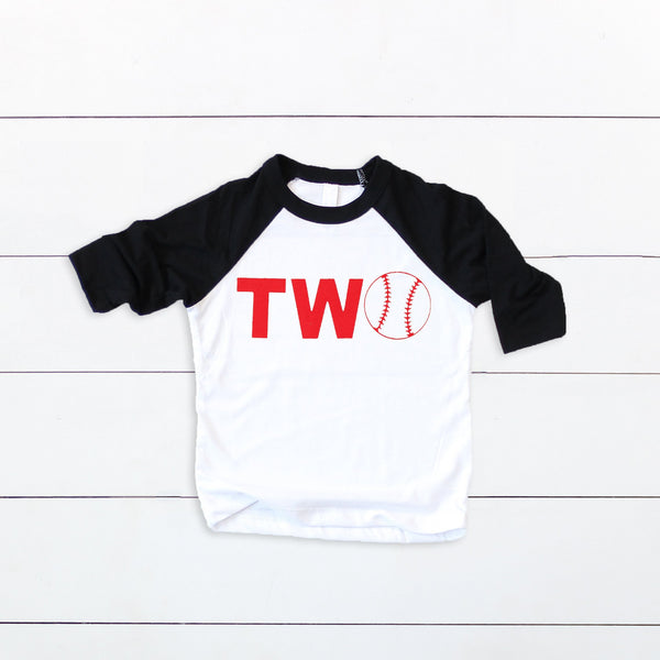 Custom TWO Baseball Shirt