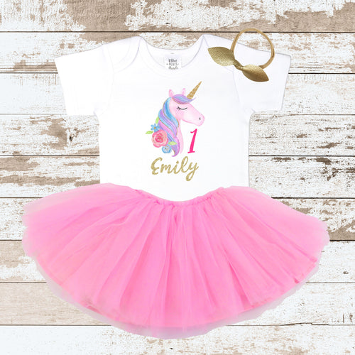 Custom Unicorn 1 Tutu Outfit