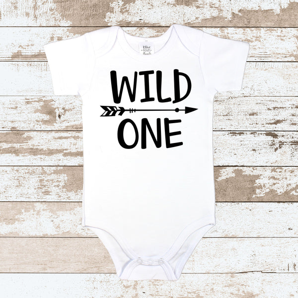 Wild ONE White Bodysuit