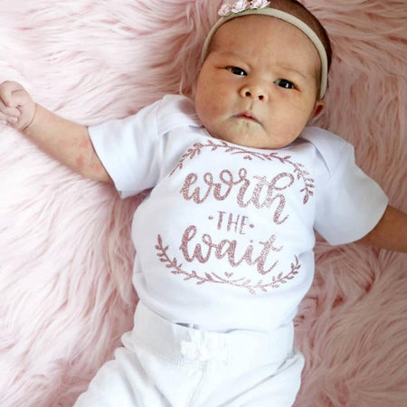 Momma's Greatest Blessing Teepee Newborn Outfit