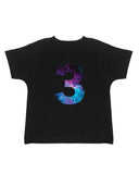 3rd Birthday Galaxy T-Shirt