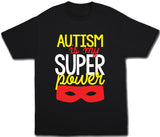 Kids Autism Is My Super Power Shirt - Kids T Shirt - UMBUH