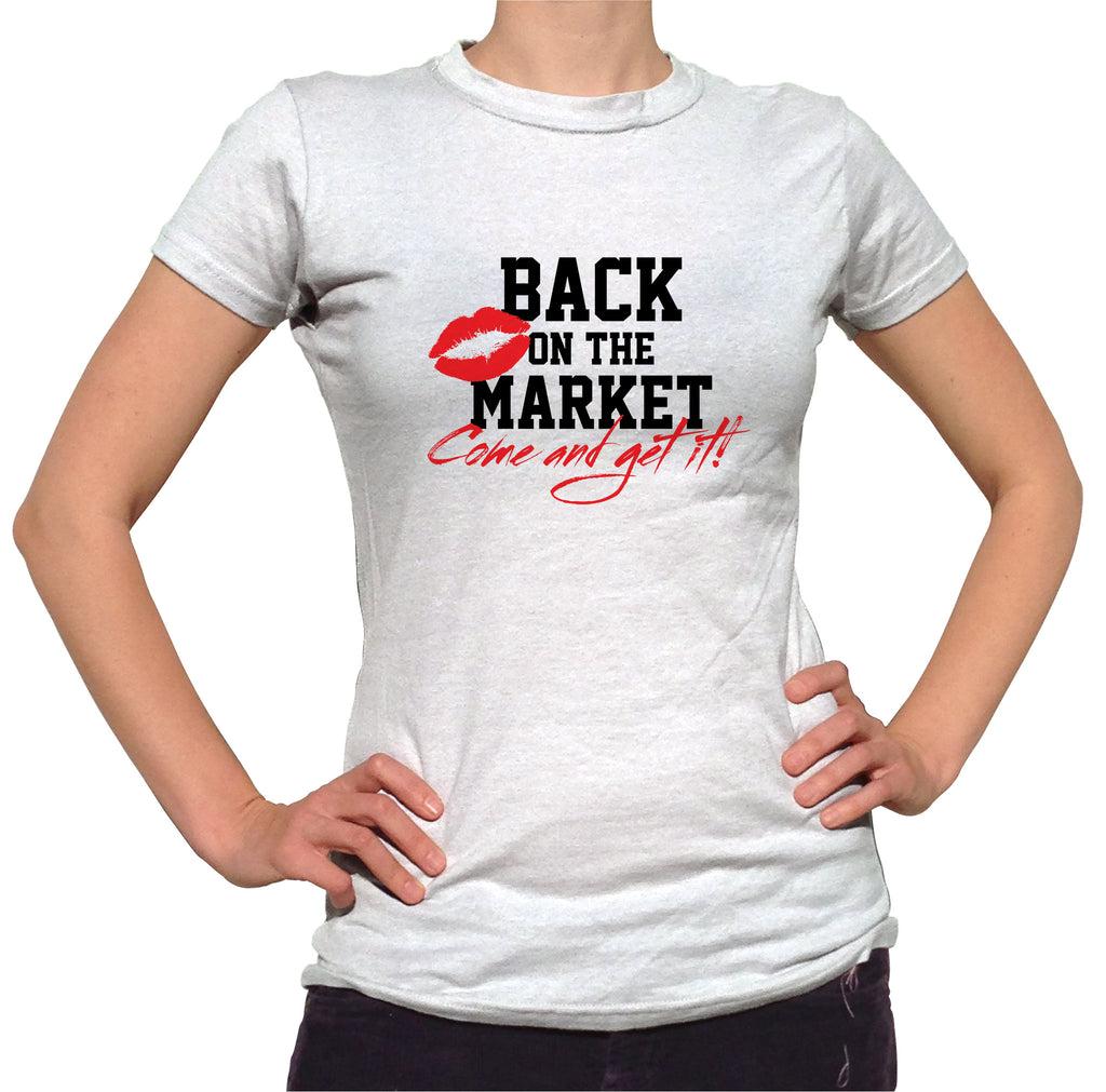 Back On The Market Shirt - Ladies Crew Neck - UMBUH