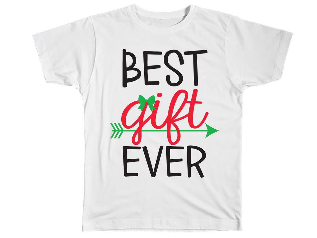 The Best Gift Ever Christmas Shirt - Kids T Shirt - UMBUH